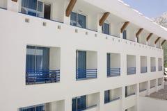 Weißes Hotel Stockfoto