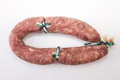 Weißes iberisches salchichon Lizenzfreie Stockfotos