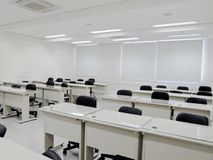 Weißes Klassenzimmer Stockbilder