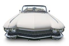 Weißes klassisches Auto Lizenzfreies Stockbild