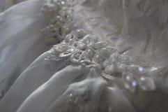 Weißes Kleid Stockbild