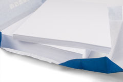 Weißes Kopierpapier Lizenzfreies Stockfoto