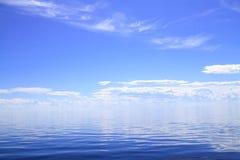 Weißes Meer Stockfoto