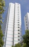 Weißes modernes Gebäude Lizenzfreies Stockbild