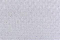 Weißes natürliches Leinengewebe mit Helligkeit lurex Nahaufnahme Lizenzfreie Stockfotos
