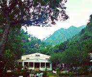Weißes Palastfliegenklatsche kpk Pakistan Stockbilder