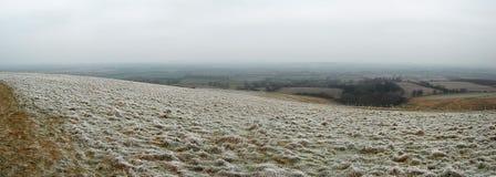 Weißes Pferden-Hügel Stockbild
