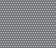 Weißes Punktmuster auf grauem Hintergrund Lizenzfreie Stockfotos