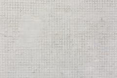 Weißes Quadrat deckt Musterbeschaffenheitshintergrund mit Ziegeln lizenzfreies stockbild
