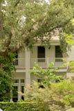 Weißes südliches Haus Stockbilder