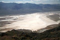 Weißes Salz FeldTodtal in Kalifornien Lizenzfreie Stockfotografie
