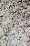 Weißes Sandsteinzutageliegen Stockfotos