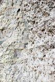 Weißes Sandsteinzutageliegen Stockbilder