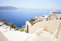 Weißes Santorini Lizenzfreie Stockfotografie
