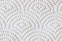 Weißes Seidenpapier Stockfoto