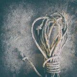 Weißes Seil lizenzfreies stockfoto