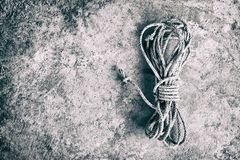 Weißes Seil stockfoto