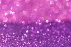 Weißes Silber und rosa abstrakte bokeh Lichter. defocused Hintergrund Stockbilder