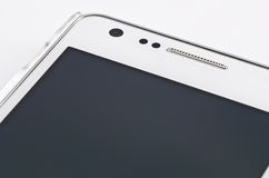 Weißes smartphone Stockfotografie