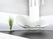 Weißes Sofa Lizenzfreie Stockfotos