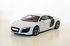 Weißes Sport-Auto Stockfotografie