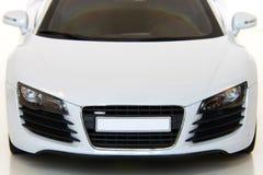Weißes Sport-Auto Lizenzfreie Stockfotos