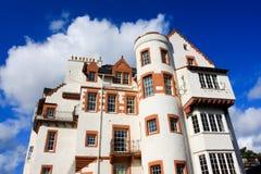 Weißes Steingebäude in Edinburgh Lizenzfreie Stockbilder