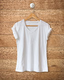 Weißes T-Shirt Lizenzfreie Stockbilder