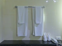 Weißes Tuch Stockfotos