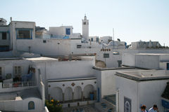 Weißes Tunesien Lizenzfreie Stockfotos