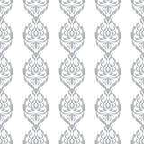 Weißes und graues Vektormuster Tapezieren Sie Hintergrund für Einladungen, Grußkarten, Webseite nahtlos Lizenzfreie Stockfotografie
