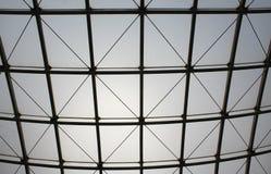Weißes und schwarzes Dach-Muster Lizenzfreies Stockbild