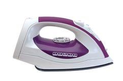 Weißes und violettes Eisen Stockbild