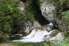 Weißes Wasser Stockfotografie