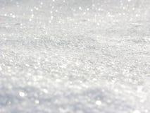 Weißes Weiche des abstrakten Hintergrundes verwischte Weihnachtslichtgirlande Lizenzfreie Stockbilder