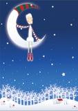 Weißes Weihnachten Lizenzfreies Stockbild
