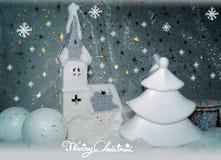 Weißes Weihnachten Lizenzfreie Stockbilder