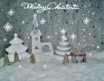 Weißes Weihnachten Stockbilder