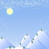Weißes Weihnachtshintergrund Lizenzfreie Stockfotos