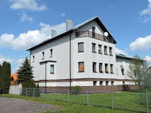 Weißes Wohnheim Lizenzfreies Stockbild