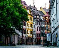 Wei�gerbergasse Nuernberg Royalty Free Stock Photography