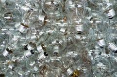 Weißglühende Glühlampen Lizenzfreies Stockfoto