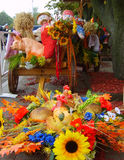 Weißrussland, Bobruisk am 12. September 2006: Feiertag Dozhinki - Warenkorb Stockfotografie