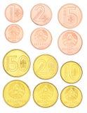 Weißrussland-Münzen eingestellt Stockbild