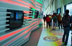 Weißrussland-Pavillon an Ausstellung 2015, Mailand Lizenzfreie Stockfotografie