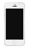 Weißschablone Iphone 5s stock abbildung