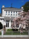 Weißes Haus der stadt Elmshorn Royalty-vrije Stock Foto's