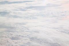 Wei?e Wolken stockbilder