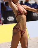 Weibliche athletische Karosserie lizenzfreie stockfotos