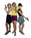 Weibliche Detektive Stockfotos